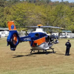 LifeLine Helicopter is NOT the Preferred Way to Leave Camp